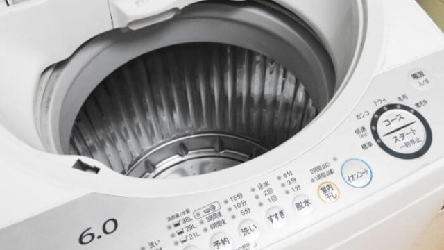 紙おむつとドラム式洗濯