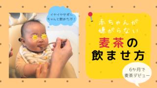 赤ちゃん麦茶嫌がる対処法